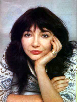 Kate Bush - weirdly beautiful, multi-talented - AnthroScape