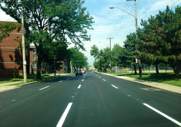 King Street lane repainting: missed opportunity for easy improvements (RTH file photo)