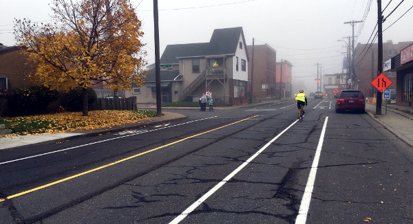 Another foggy bike ride (Image Credit: Jason Leach)