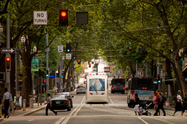 Street trees in Portland (Image Credit: American Society of Landscape Architects)