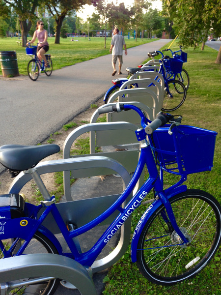 Hamilton Bike Share hub station