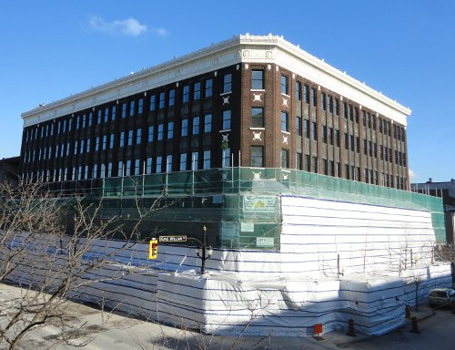 Lister Block under renovation (RTH file photo)