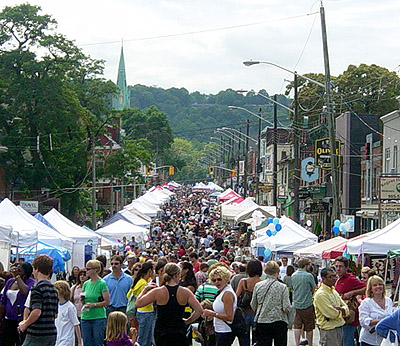 Locke Street Festival, September 2009 (RTH file photo)