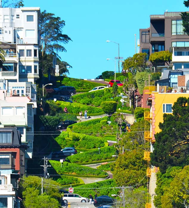 Lombard Street, San Francisco (Image Credit: World Atlas)
