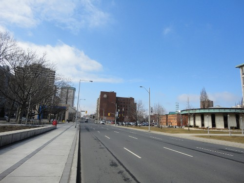 Main Street West in front of City Hall (RTH file photo)