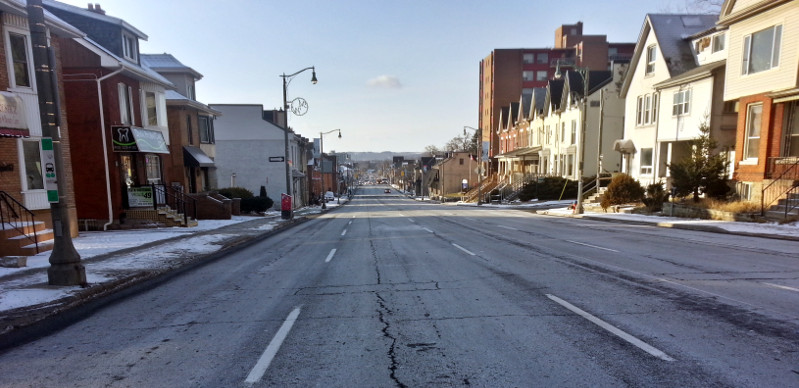 Main Street West: the calm before the storm (RTH file photo)