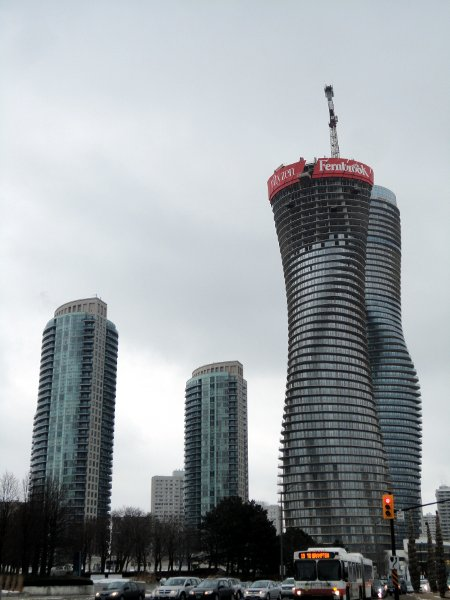 Absolute Towers in Mississauga during construction (RTH file photo)