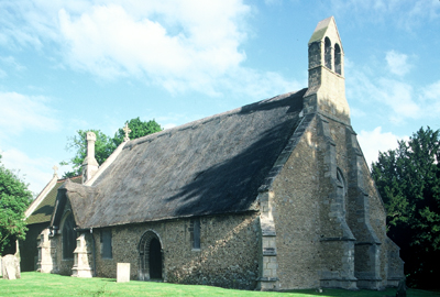 Fig. 2. St Michael's, Long Stanton (Cambridgeshire) UK, exterior from NW.