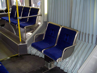 Seats in the divider