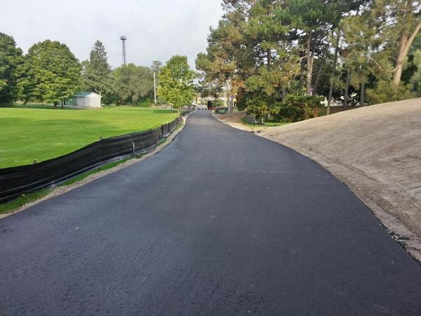 New paved multi-use path around north edge of Chedoke Golf Course