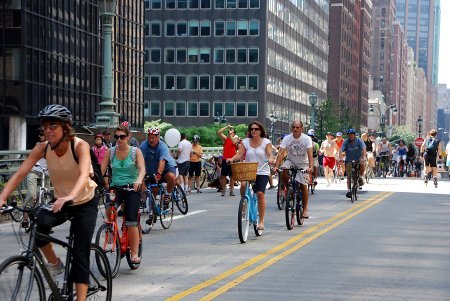 New York City Ciclovia (Image Credit: Skyscraperpage)