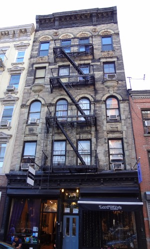 Fire escape in Manhattan building