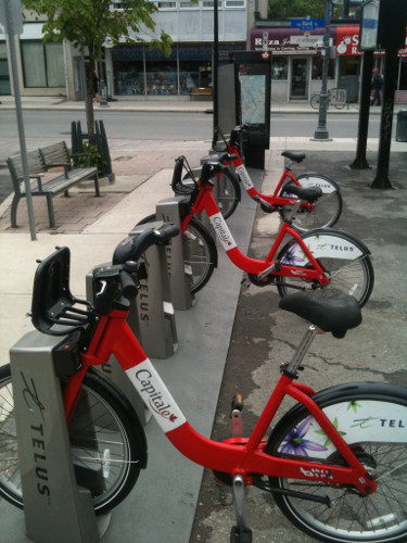 Bixi Ottawa station (RTH file photo)