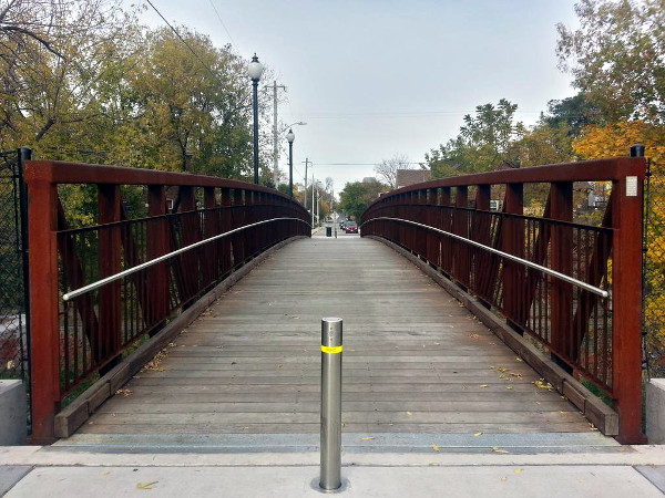 Pearl Street Pedestrian Bridge (RTH file photo)