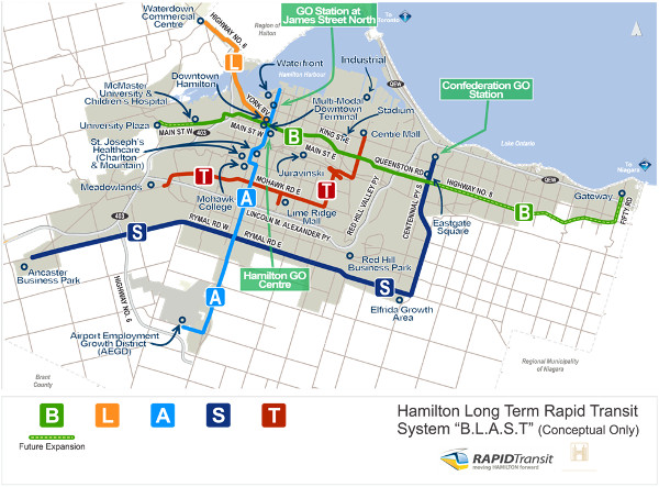 Evaluating Success Conditions for Hamilton Light Rail Transit