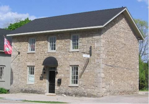 Figure 7: The Phillipo House, Ancaster, built in the 1840s from local dolomite rubble.