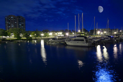 The Port at Night (Photo Credit: Joe Ceretti)