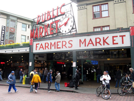 The historic Pike Place Market.