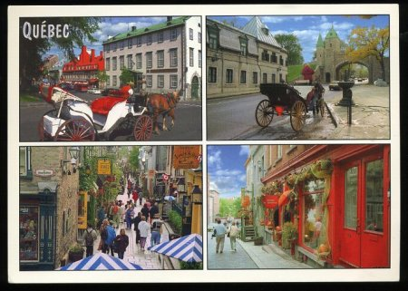 Quebec City - lots of old houses and French people