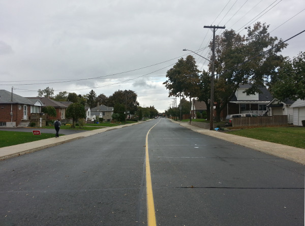 Queensdale Avenue near Green Meadow Road, Ward 6