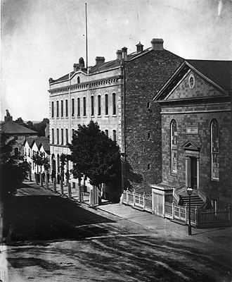 Fig. 17: McKeand Bros. Warehouse [National Archives of Canada, C-7260]