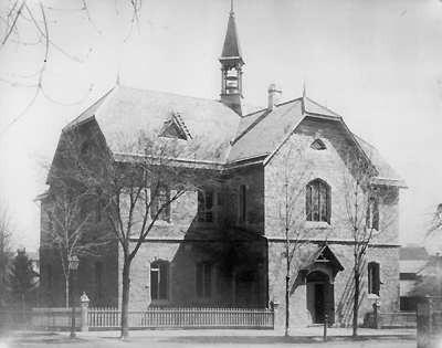 Fig. 29: Caroline St. Public School [Hamilton Public Library, Special Collections]