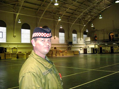 Corporal Bill Mallinson, Aryll and Sutherland Highlanders
