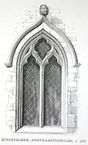 Fig. 5. Kingsthorpe (Northamptonshire), window, after John Henry Parker.
