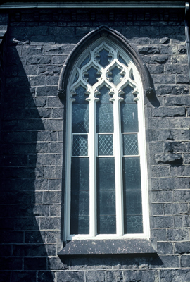 Fig. 12. Hamilton, St Paul's Presbyterian Church, S side, E window.