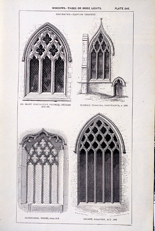 First rate gothic a look at st paul 39 s presbyterian church for Architectural window designs