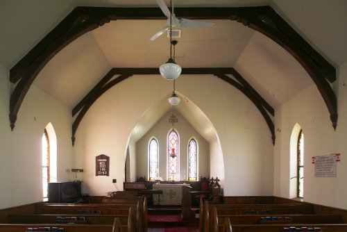 Fig. 5. Middleport, St Paul's Anglican Church, interior to E.