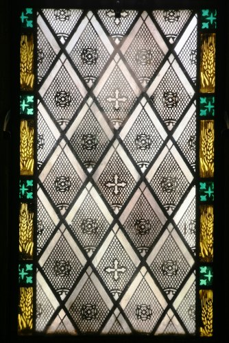 Fig. 7. Middleport, St Paul's Anglican Church, nave window detail.