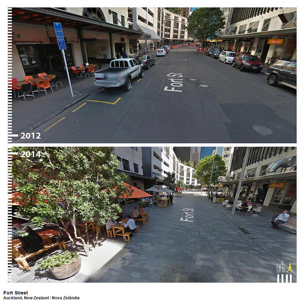 Fort Street, Auckland, New Zealand