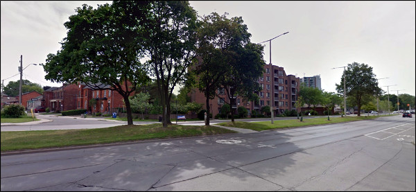 York boulevard, view from Pearl Street (Image Credit: Google Street View)