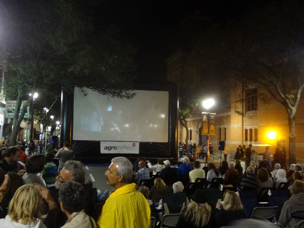 Viewers enjoyed a screening of Fellini's La Dolce Vita