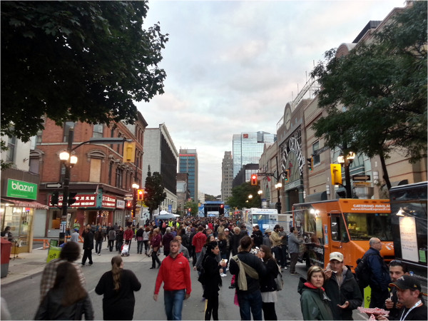 Supercrawl 2014 crowd on James North