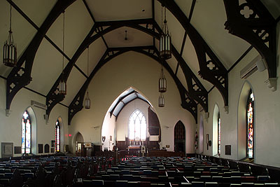 Fig. 12. St John's Anglican Church, Ancaster, interior to E.