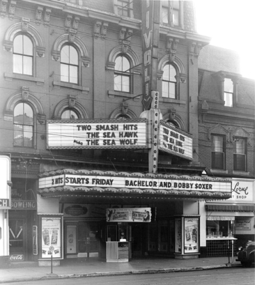 The historic Tivoli Theatre from across the street (Photo Credit: Ontario Government Archives)