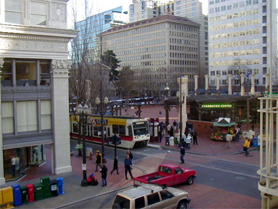 Light Rail is compatible with cars and pedestrians