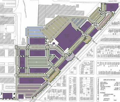 Proposed Trinity Development