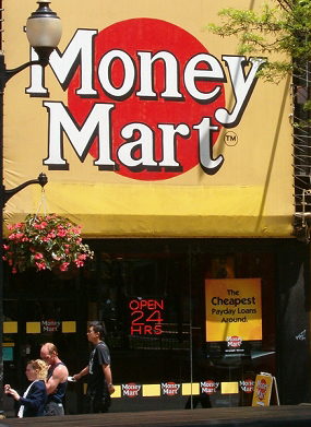 Money Mart loaned $129,092,000 USD in the first quarter of 2006