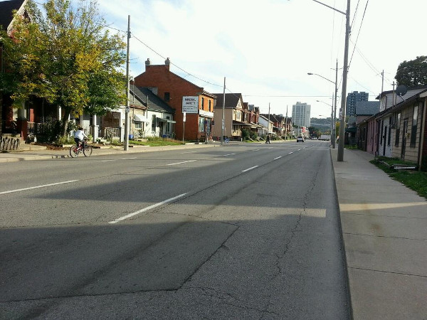 Wellington Street North during rush hour (RTH file photo)