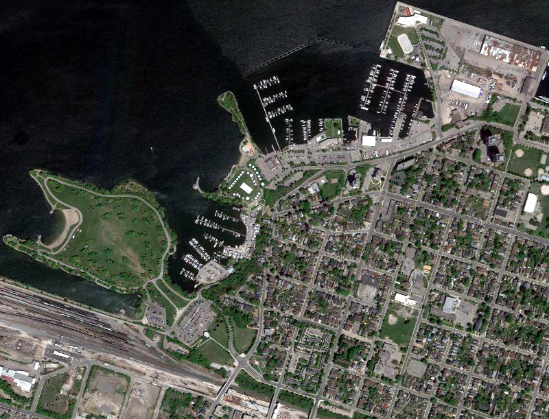 West Harbour overhead view (Image Credit: Google Maps)