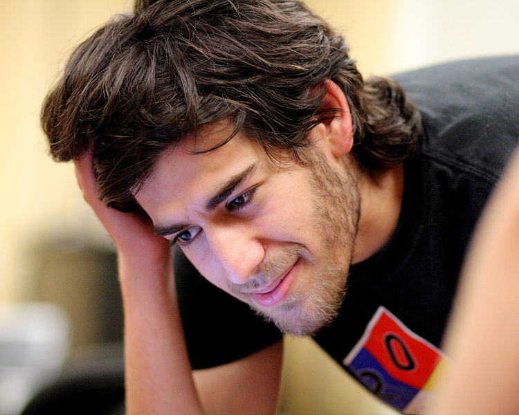 Aaron Swartz at Boston Wikipedia Meetup (Image Credit: Wikipedia)