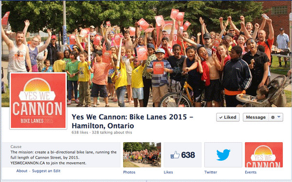 Yes We Cannon Facebook page