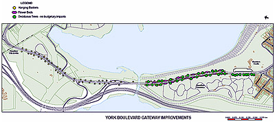 York Blvd Gateway Improvement (click on the image to view larger)
